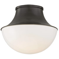 Lettie LED 11 inch Old Bronze Flush Mount Ceiling Light, Small