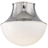 Hudson Valley 9415-PN Lettie LED 15 inch Polished Nickel Flush Mount Ceiling Light, Large