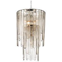 Hudson Valley Fenwater 9 Light Pendant in Polished Nickel 9418-PN