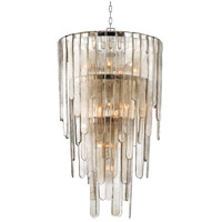 Fenwater 16 Light 26 inch Polished Nickel Pendant Ceiling Light