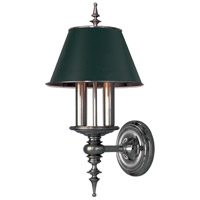 Cheshire 2 Light 9 inch Antique Nickel Wall Sconce Wall Light