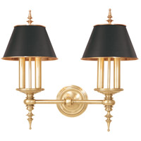 Hudson Valley 9502-AGB Cheshire 4 Light 21 inch Aged Brass Wall Sconce Wall Light photo thumbnail