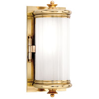 Hudson Valley Lighting Bristol 1 Light Bath And Vanity in Aged Brass 951-AGB