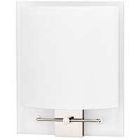 Peoria 2 Light 9 inch Polished Nickel ADA Wall Sconce Wall Light