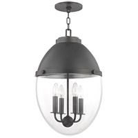 Hudson Valley 9514-OB Kennedy 4 Light 14 inch Old Bronze Pendant Ceiling Light