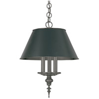 Cheshire 3 Light 15 inch Antique Nickel Pendant Ceiling Light