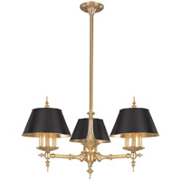 Hudson Valley 9523-AGB Cheshire 9 Light 36 inch Aged Brass Chandelier Ceiling Light