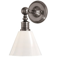 Hudson Valley 9601-HN Darien 1 Light 8 inch Historic Nickel Wall Sconce Wall Light