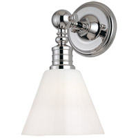 Hudson Valley Lighting Darien 1 Light Wall Sconce in Polished Nickel 9601-PN