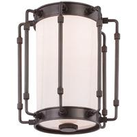 Hudson Valley 9709-OB Hyde Park LED 9 inch Old Bronze Flush Mount Ceiling Light White