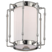 Hudson Valley 9709-PN Hyde Park LED 9 inch Polished Nickel Flush Mount Ceiling Light White