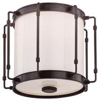 Hudson Valley 9713-OB Hyde Park LED 13 inch Old Bronze Flush Mount Ceiling Light White