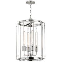 Hudson Valley 9716-PN Hyde Park 4 Light 16 inch Polished Nickel Pendant Ceiling Light