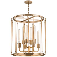 Hudson Valley 9722-AGB Hyde Park 8 Light 22 inch Aged Brass Pendant Ceiling Light