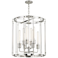Hyde Park 8 Light 22 inch Polished Nickel Pendant Ceiling Light