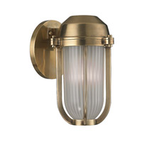 Hudson Valley Lighting Pompey 1 Light Wall Sconce in Aged Brass 980-AGB