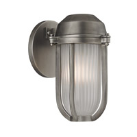 Hudson Valley Lighting Pompey 1 Light Wall Sconce in Antique Nickel 980-AN