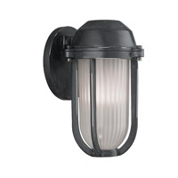 Hudson Valley Lighting Pompey 1 Light Wall Sconce in Aged Zinc 980-AZ