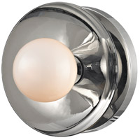 Julien LED 5 inch Polished Nickel Bath Wall Light, Opal Matte