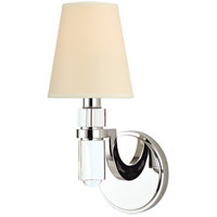 Hudson Valley Lighting Dayton Wall Sconce in Polished Nickel with Eco Paper Shade 981-PN