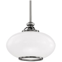 Canton 1 Light 12 inch Old Nickel Pendant Ceiling Light