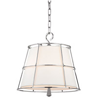 Hudson Valley 9816-PN Savona 2 Light 16 inch Polished Nickel Pendant Ceiling Light