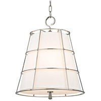 Hudson Valley Lighting Savona 3 Light Pendant in Polished Nickel 9818-PN