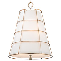 Hudson Valley Lighting Savona 3 Light Pendant in Aged Brass 9820-AGB