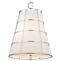 Savona 3 Light 20 inch Polished Nickel Pendant Ceiling Light