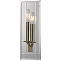 Hudson Valley Lighting Austin 1 Light Wall Sconce in Aged Brass 990-AGB