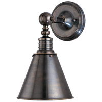 Hudson Valley Lighting Darien 1 Light Wall Sconce in Distressed Bronze 9901-DB