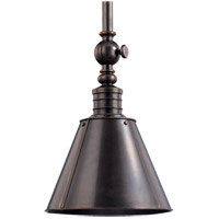 Darien 1 Light 8 inch Distressed Bronze Pendant Ceiling Light