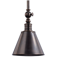 Hudson Valley Lighting Darien 1 Light Pendant in Distressed Bronze 9911-DB