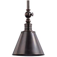 Hudson Valley Lighting Darien 1 Light Pendant in Distressed Bronze 9911-DB photo thumbnail