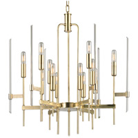 Hudson Valley Lighting Bari 12 Light Chandelier in Aged Brass 9912-AGB