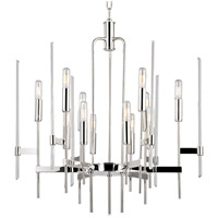 Bari 12 Light 24 inch Polished Nickel Chandelier Ceiling Light
