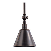 Hudson Valley Lighting Darien 1 Light Pendant in Distressed Bronze 9915-DB