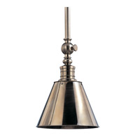 Hudson Valley Lighting Darien 1 Light Pendant in Historic Nickel 9915-HN