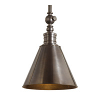 Hudson Valley Lighting Darien 1 Light Pendant in Distressed Bronze 9919-DB