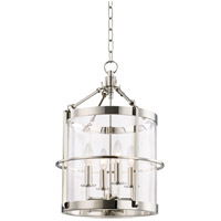 Ren 4 Light 14 inch Polished Nickel Pendant Ceiling Light