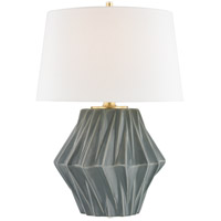 Light Gray Linen Table Lamps