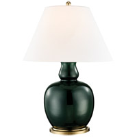 Tang 32 inch 60 watt Imperial Green Table Lamp Portable Light