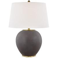 Hudson Valley L1069-BS Freeman 26 inch 75 watt Burnt Sinna Table Lamp Portable Light