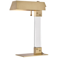 Hudson Valley L1256-AGB Hunts Point 19 inch 60 watt Aged Brass Table Lamp Portable Light