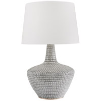 Hudson Valley L1357-GRY Truxton 31 inch 120.00 watt Gray Table Lamp Portable Light