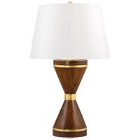 Hudson Valley L1463-AGB Selden 29 inch 120.00 watt Aged Brass Table Lamp Portable Light
