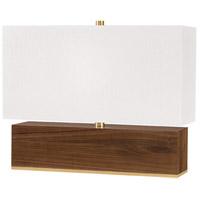 Hudson Valley L1475-AGB Waltham 16 inch 120.00 watt Aged Brass Table Lamp Portable Light