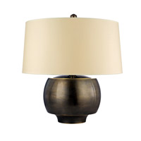Hudson Valley Lighting Holden Portable Table Lamp in Distressed Bronze L166-DB