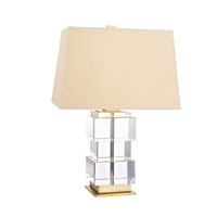 Hudson Valley Lighting Brookfield Portable Table Lamp in Aged Brass L243-AGB