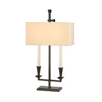 Hudson Valley Lighting Cite Bouilotte 2 Light Table Lamp in Old Bronze L305-OB